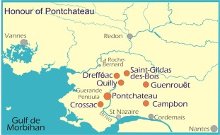 Map: Honour of Pontchateau
