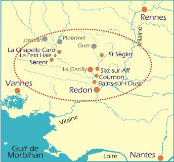 Map Redon Charter 349