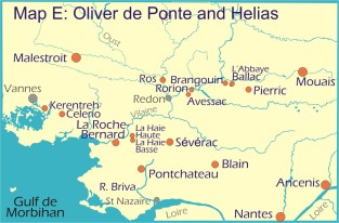 Map E: Oliver de Ponte and Helias
