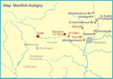 Map: Montfort-Aubigny