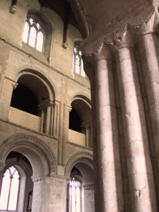 Norman Pillars in Wymondham Abbey