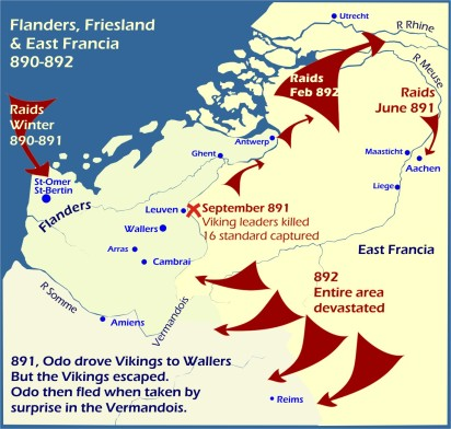 Map: Flanders Friesland 890-892